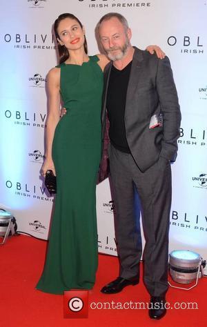 Olga Kurylenko and Liam Cunningham