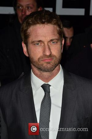 Gerard Butler - 'Olympus Has Fallen' UK film premiere held at the BFI IMax - Arrivals - London, United Kingdom...