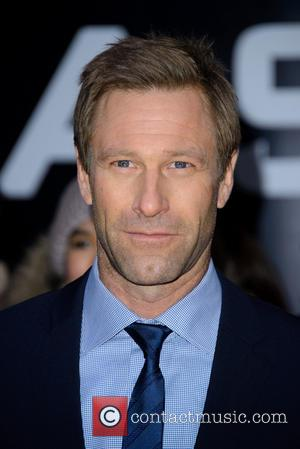 Aaron Eckhart - 'Olympus Has Fallen' UK film premiere held at the BFI IMax - Arrivals - Wednesday 3rd April...