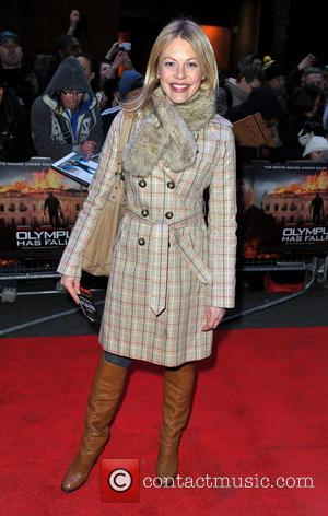 Kelly Adams - 'Olympus Has Fallen' UK film premiere held at the BFI IMax - Arrivals - London, United Kingdom...