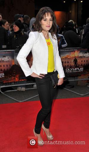 Paula Lane - 'Olympus Has Fallen' UK film premiere held at the BFI IMax - Arrivals - London, United Kingdom...