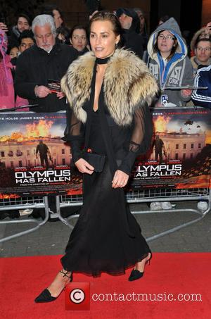 Yasmin Le Bon - 'Olympus Has Fallen' UK film premiere held at the BFI IMax - Arrivals - London, United...