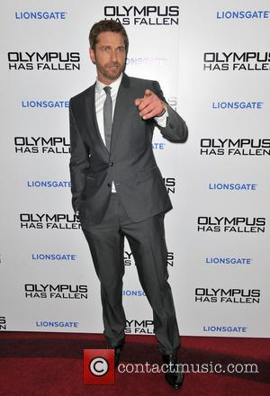 Gerard Butler - 'Olympus Has Fallen' UK film premiere held at the BFI IMax - Inside Arrivals - London, United...
