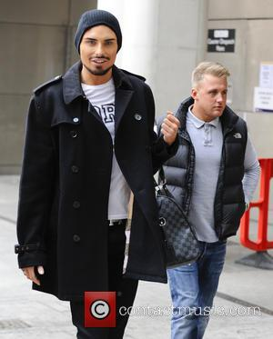 Rylan Clark - Celebrities arrive at the BBC Radio 1 studios - London, United Kingdom - Wednesday 3rd April 2013