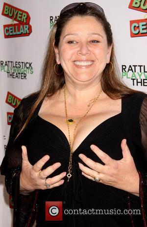 Camryn Manheim acting goofy - Opening night of 'Buyer and Cellar' at the Rattlestick Playwrights Theater - Arrivals - New...