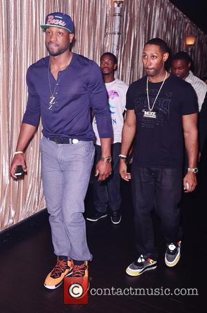Dwyane Wade - Miami Heat professional basketball play Chris Bosh celebrates his 29th birthday party at Bamboo Miami Beach -...