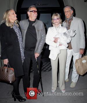 Peter Fonda, Jane Fonda and Richard Perry - Jane and Peter Fonda leaving Craig's restaurant - Los Angeles, California, United...