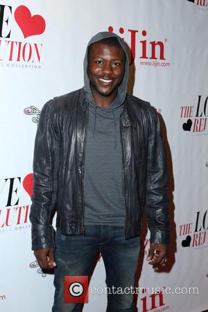 Edwin Hodge - iiJin Fall/Winter 2013 The Love Revolution Fashion Show - Los Angeles, CA, United States - Wednesday 3rd...