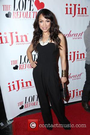 Mayte Garcia - iiJin Fall/Winter 2013 The Love Revolution Fashion Show - Los Angeles, CA, United States - Wednesday 3rd...