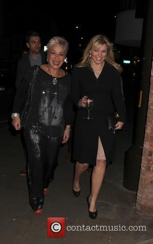 Denise Welch and Kate Thornton