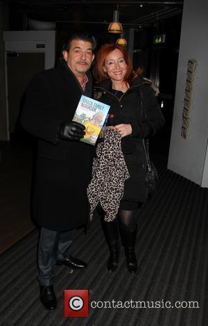 John Altman - Press night for 'Smack Family Robinson' at the Rose Theatre Kingston- Outside Arrivals - London, United Kingdom...