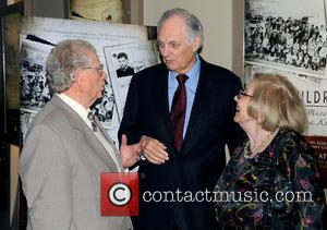 Alan Alda, Henny Wenkart and Erwin Tepper