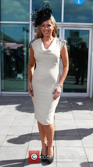 Claire Sweeney - John Smith Grand National weekend at Aintree - Day 1 - Aintree, United Kingdom - Thursday 4th...