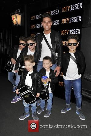 Joey Essex - Celebrities attend the Joey Essex D'Reem Hair Launch Party at Sugar Hut Brentford - London, United Kingdom...