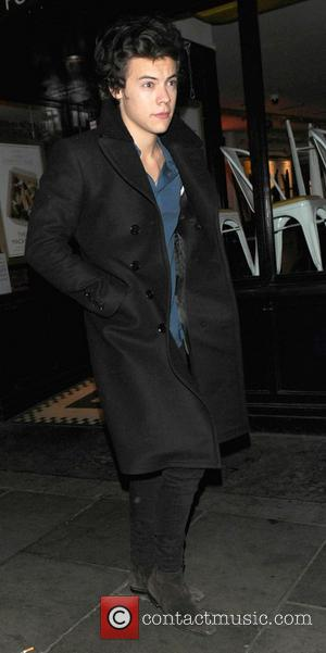 Harry Styles - Celebrities at the Groucho Club