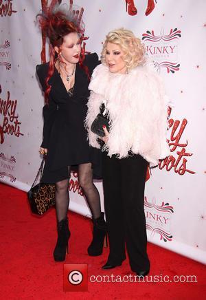 Joan Rivers and Cyndi Lauper