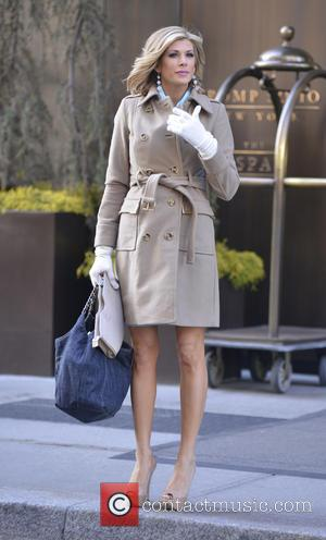 Alexis Bellino - Cast members of 'The Real Housewives of Orange County' leaving their Manhattan hotel - New York City,...