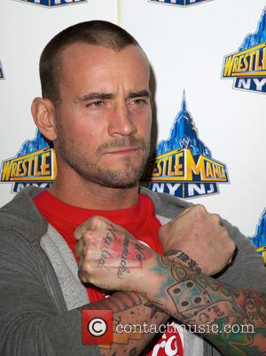 CM Punk - 'WrestleMania 29' press conference held at Radio City Music Hall - New York City, NY, United States...