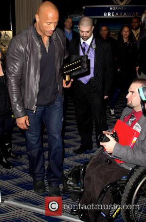 Dwayne 'The Rock' Johnson - 'WrestleMania 29' press conference held at Radio City Music Hall - New York City, NY,...