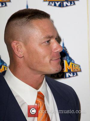 John Cena - 'WrestleMania 29' press conference held at Radio City Music Hall - New York City, NY, United States...