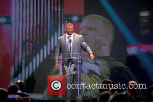 Triple H - 'WrestleMania 29' press conference held at Radio City Music Hall - New York City, NY, United States...