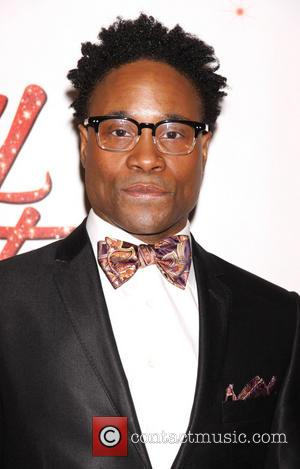 Billy Porter - The Broadway opening night after party for 'Kinky Boots' at the Marriott Marquis Hotel - Arrivals -...