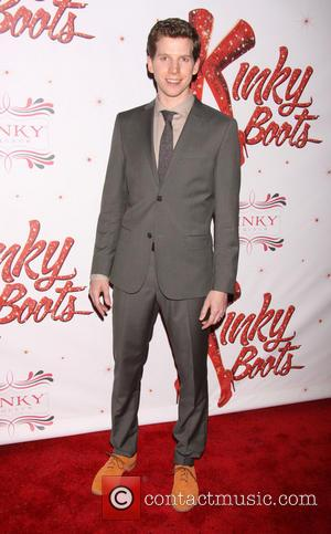 Stark Sands - The Broadway opening night after party for 'Kinky Boots' at the Marriott Marquis Hotel - Arrivals -...