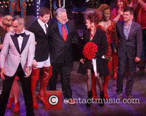 Jerry Mitchell, Stark S, S, Harvey Fierstein, Cyndi Lauper, Billy Porter and Stephen Oremus