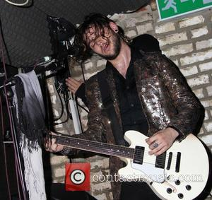 Navarone Garibadi - Priscilla Presley's son Navarone performs at The Kings Head in Hoxton with his band Them Guns -...