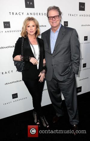 Kathy Hilton and Rick Hilton