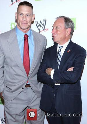 John Cena and Michael Bloomberg