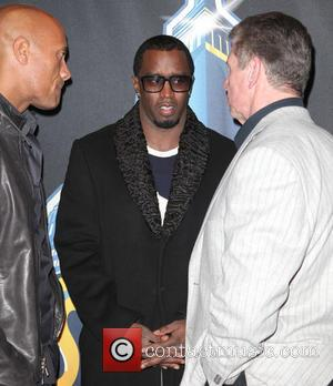 Dwayne Johnson, The Rock, Sean Combs and P Diddy