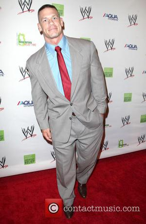 John Cena - WWE Superstars for Sandy Relief at Cipriani Wall Street - Arrivals - New York, United States -...