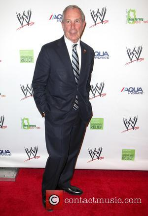 Mayor Michael Bloomberg - WWE Superstars for Sandy Relief at Cipriani Wall Street - Arrivals - New York, United States...