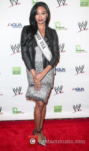 Nana Meriwether - WWE Superstars for Sandy Relief at Cipriani Wall Street - Arrivals - New York, United States -...