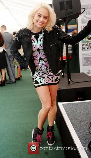 Kimberly Wyatt - Kimberly Wyatt performs a DJ set at the 2013 John Smith's Grand National at Aintree - Liverpool,...