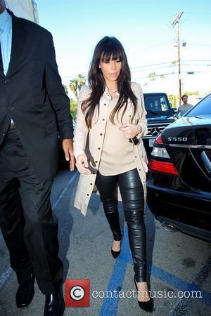Kim Kardashian - Kardashian filming