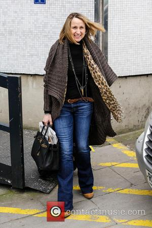 Carol McGiffin - Celebrities at the ITV Studios - London, United Kingdom - Friday 5th April 2013