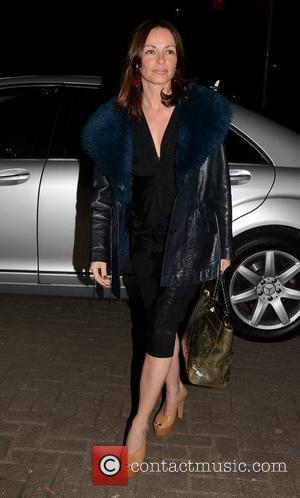 Sharon Corr - Sharon Corr seen outside the RTE studios where she appeared on 'The Late Late Show' - Dublin,...