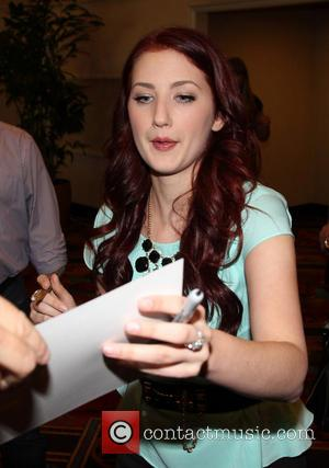 Katie Armiger - Celebrities at The MGM Grand for the...