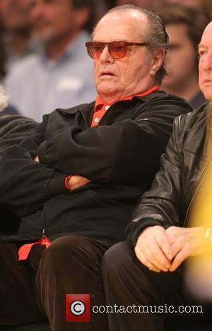Jack Nicholson - Celebrities watch the LA Lakers vs. the Memphis Grizzlies at the Staples Center - Los Angeles, California,...