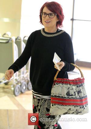 Megan Mullally - Megan Mullally arrives at LAX airport to catch a flight - Los Angeles, California, United States -...