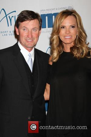 Wayne Gretzky and Janet Jones-gretzky
