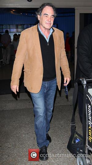 Oliver Stone - Oliver Stone arrives at LAX airport to catch a flight - Los Angeles, California, United States -...
