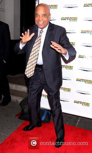 Berry Gordy - Broadway's Motown: The Musical family night celebration at the Lunt Fontanne Theatre - Arrivals - New York,...