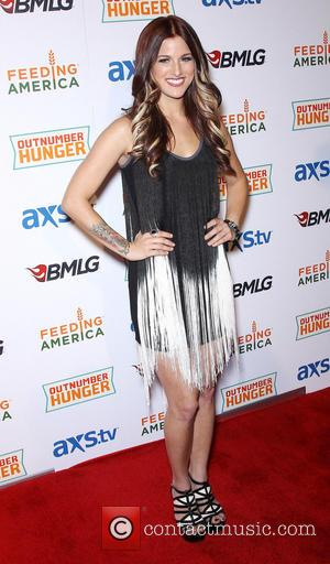 Cassadee Pope - ACM and BMLG Red Carpet for Out Number Hunger Live at The Orleans Hotel and Casino -...