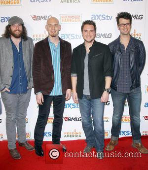 Eli Young Band - ACM and BMLG Red Carpet for Out Number Hunger Live at The Orleans Hotel and Casino...