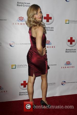 Christina Moore - Members of the Armed Forces and the cast of 'NCIS' honoured at the 'Annual Red Cross Red...