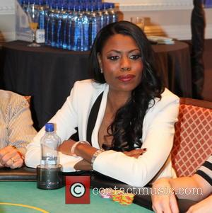 Omarosa Manigault - Opportunity Village Celebrity Poker Tournament, held at Caesars Palace Hotel and Casino - Inside - Las Vegas,...
