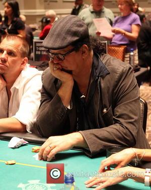Penn Jillette - Opportunity Village Celebrity Poker Tournament, held at Caesars Palace Hotel and Casino - Inside - Las Vegas,...